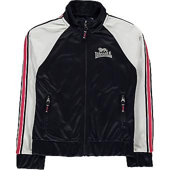Lonsdale Track Funnel Zip Top Junior Girls