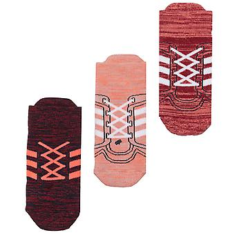 Boy-apos;s adidas Infant 3 Pack Socks in Pink