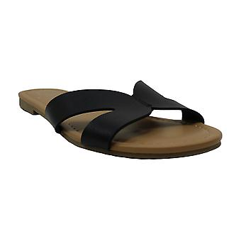 Material Girl Womens Acelina Open Toe Casual Slide Sandals