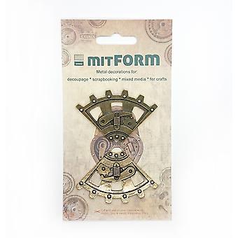 Mitform Corners 3 Metal Embellishments