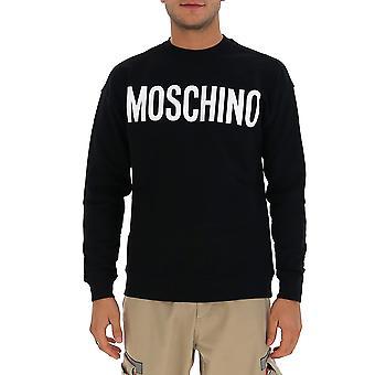 Moschino 17185227j1555 Men's Svart Bomull Sweatshirt