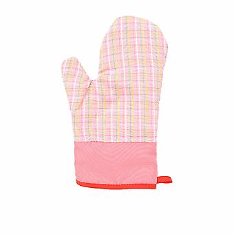 Microwave Oven Gloves Thick Cotton Pink