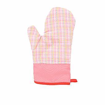 Mikrovågsugn Handskar Tjock bomull rosa
