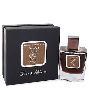 Franck boclet tabak eau de parfum spray door franck boclet 100 ml