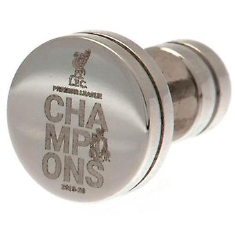Liverpool Premier League Champions Stainless Steel Stud Earring
