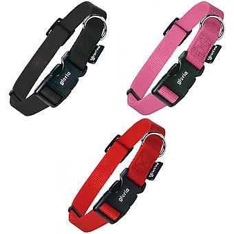 Gloria Adjustable Nylon Dog Collar