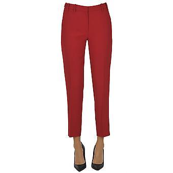 N°21 Ezgl068209 Pantalon en polyester rouge femme-apos;s