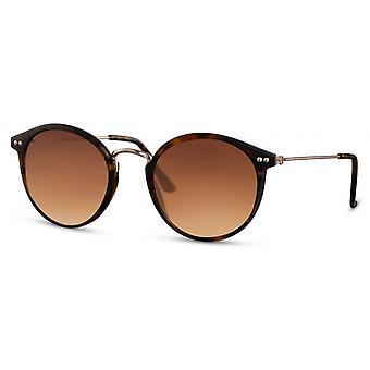 Solglasögon Unisex oval katt. 3 brun/brun