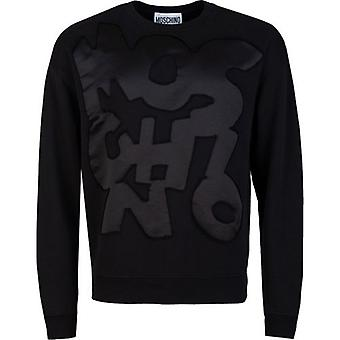 Moschino Couture Patchwork Logo Sweater
