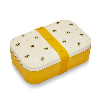 Cooksmart Bumble Bees Bamboo Lunch Box