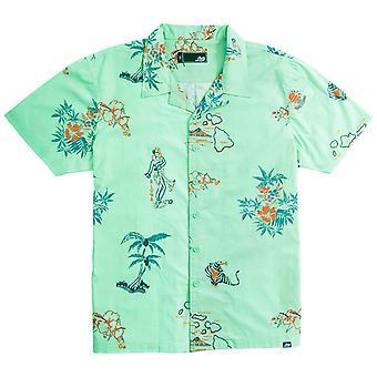 Lost westside woven shirt neo mint