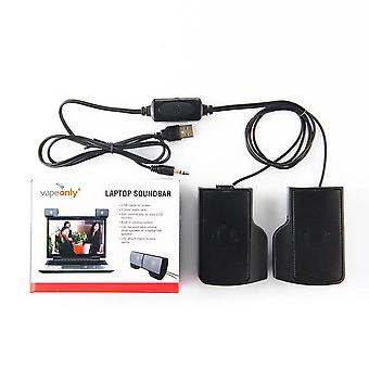 Laptop 2.0 Mini Stereo Lautsprecher Usb 3,5 mm Wired Controller Music Player