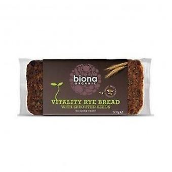 Biona - Org Sprout Mix Rye Bread 500g