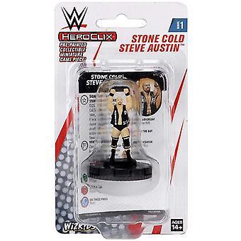 UNIDAD WWE HeroClix Stone Cold Steve Austin Expansion Pack W1