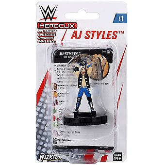 UNIT WWE HeroClix AJ Styles Expansion Pack W1