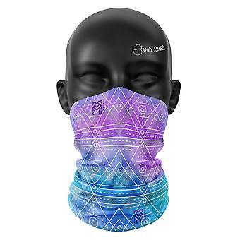 Geometrische Haze Farben Snood Gesicht Maske Schal Neckerchief Kopf bedecken Buff
