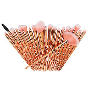 Homemiyn Cosmetic Brush 20 Pieces Colorful One Set