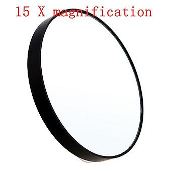 5/10/15x Makeup  Magnifying Pocket Mirror With Two Suction Cups