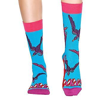 Happy Socks The Beatles Love Sock - Blue / Orange