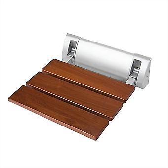 Wall-mounted Shower-seats, Bathroom Chair, Bath-shower Folding Solid-wood-bench