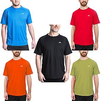 Trespass Mens Debase Crew Neck Outdoors Quick Dry Active T-Shirt Tee Top