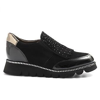 Alfredo Giantin Černý pantofle s třásněmi