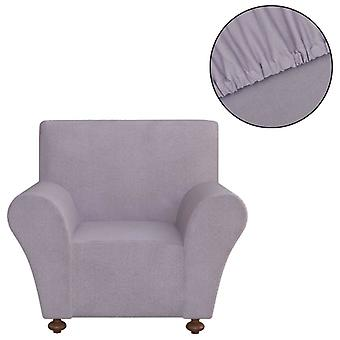 Sofahusse Stretchhusse Sofa Cover Grey Polyester Jersey