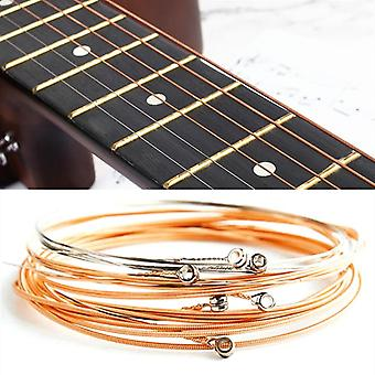 6pcs Pure Copper Strings For Classical Classic Guitar Parts Accessories