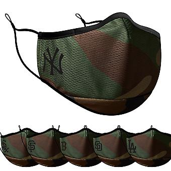 New Era MLB Face Mask Performance Face Mask wood camo