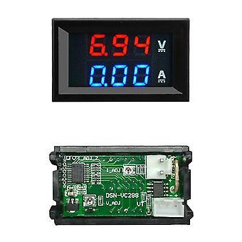 Mini Digitale Voltmeter Ammeter Panel Amp Volt Voltage Stroommeter Tester