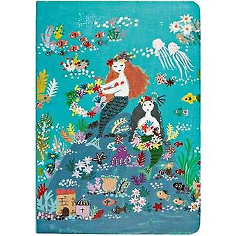 Mermaid Island A5 Notebook