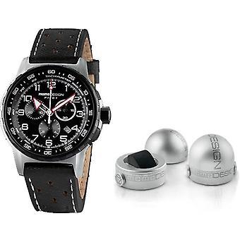 Momo design watch pilot pro chrono quarzo md2164ss-42