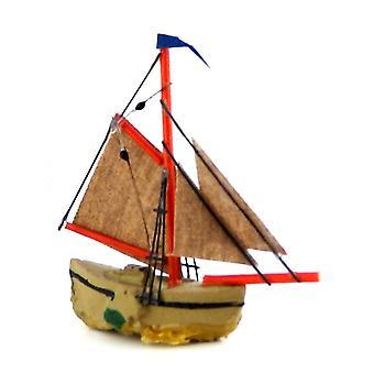 Dolls House Sail Boat Sailing Ship Miniature 1:12 Scale Ornament Accessory