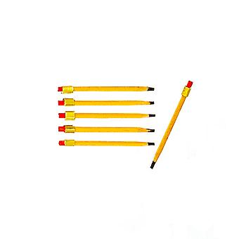 Dolls House 6 Pencils Miniature Study Office School Desk Accessory 1:12 Scale