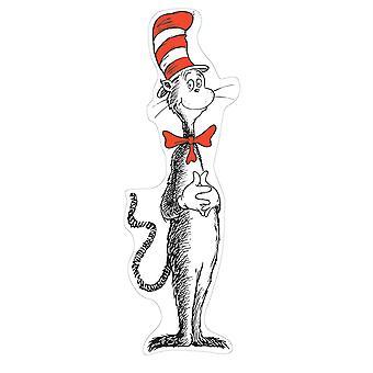 Gato gigante en el juego del tablero del boletín del sombrero