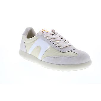 Camper Pelotas XLF  Mens White Canvas Euro Sneakers Shoes