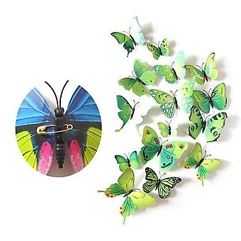 Wall Stickers, Butterfly 3d Wallpaper Pvc House Decoration
