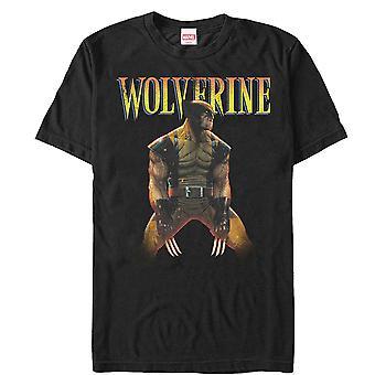 Marvel X-Men Wolverine Ready T-paita