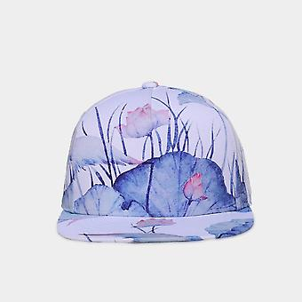 Small Fresh Style 3d Printing Hip Hop Exclusive Design Cap