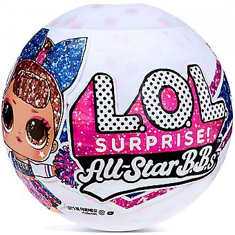 ¡Sorpresa de L.O.L! All Star BBs Series 2 Cheer Team Mystery Pack (Equipo Azul)
