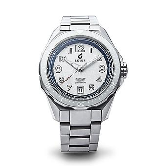 BOLDR Expedition Rushmore Automatic Silver Tone Dial Wristwatch