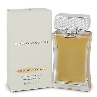 David Yurman Exotic Essence Eau De Toilette Spray By David Yurman 3.4 oz Eau De Toilette Spray