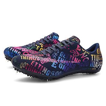 Professionele mannen / vrouwen running training ademende spikes concurrentie sneakers