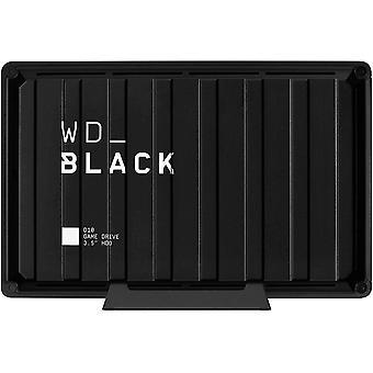 WD_BLACK 8TB D10 Game Drive mit 7200U/min mit aktiver Khlung zum Speichern Ihr umfangreichen