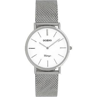 Oozoo - Women's Watch - C9903 - Silver White