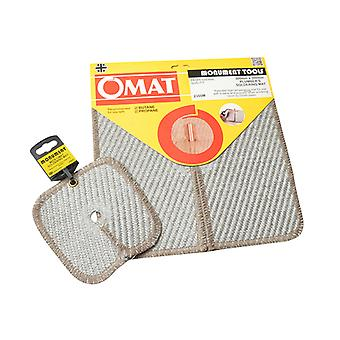 Monument MONOMATTWIN 12 and 6in Soldering Brazing Pads