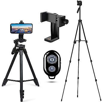 Handy Stativ Smartphone Kamera Stative Leichtbau Einbein Stnder fr iPhone/Samsung/Huawei