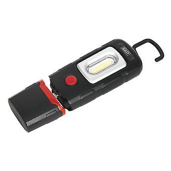 Sealey Led3601 ladattava 360? Tarkastus valaisin 2W COB + 1W LED Li-polymeeri