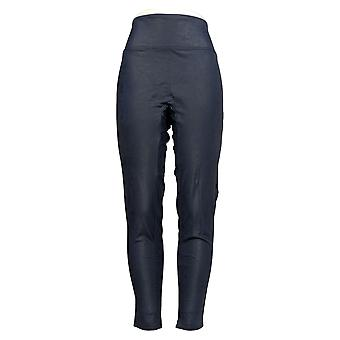 All Worthy Hunter McGrady Leggings Ultimate Faux Leather Blue A387467