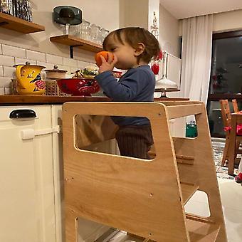 Helper Tower Küche Schritt Hocker mit Sicherheit Schiene Lernmöbel